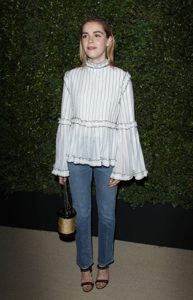 Kiernan Shipka: Chanel Dinner hosted by Pharrell Williams -06