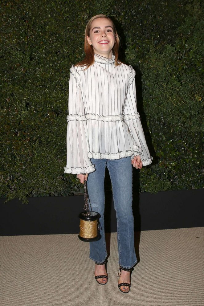 Kiernan Shipka: Chanel Dinner hosted by Pharrell Williams -10