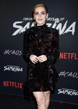 Kiernan Shipka - 'Chilling Adventures of Sabrina' Premiere in Los Angeles