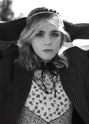 Kiernan Shipka - Dazed Digital 2016 adds