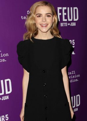 Kiernan Shipka - 'Feud' Premiere in New York