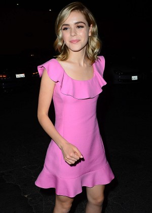Kiernan Shipka - Just Jared's Way to Wonderland Party in West Hollywood