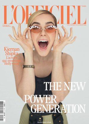 Kiernan Shipka  - L'Officiel Paris Cover (April 2019)