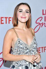 Kiernan Shipka - 'Let It Snow' Premiere in Los Angeles
