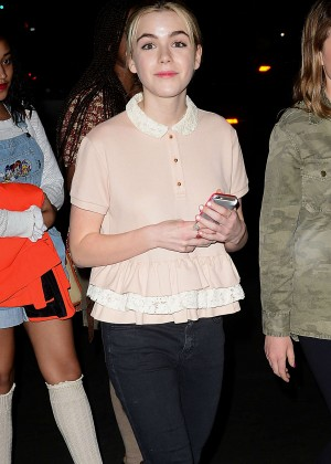Kiernan Shipka - Moonlight Rollerway in Glendale