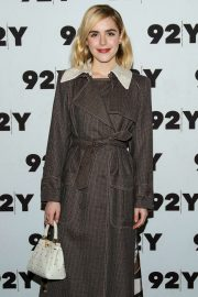 Kiernan Shipka - Netflix's Chilling Adventures of Sabrina at 92Y in NYC