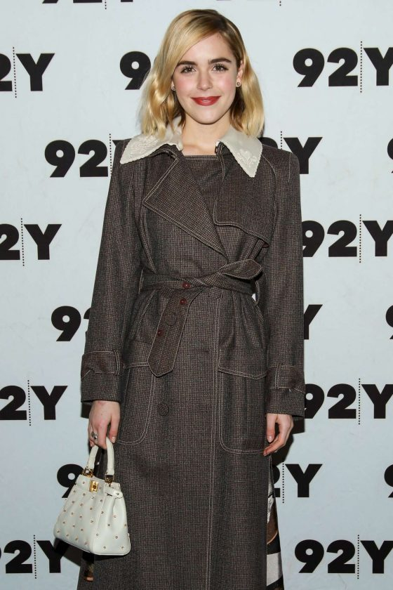 Kiernan Shipka - Netflix's Chilling Adventures of Sabrina at 92Y in NYC