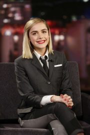 Kiernan Shipka - On Jimmy Kimmel Live! in Los Angeles