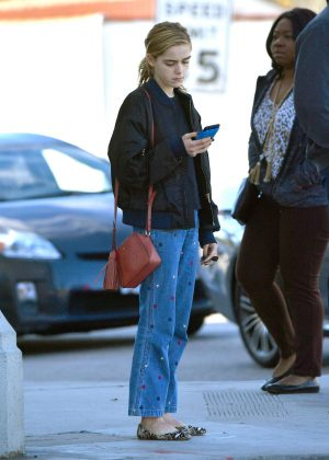 Kiernan Shipka - Out And About in Los Angeles