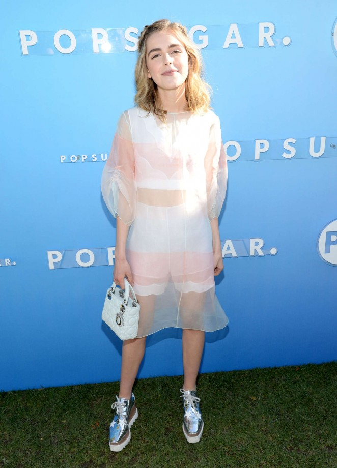Kiernan Shipka - POPSUGAR Cabana Club in Palm Springs