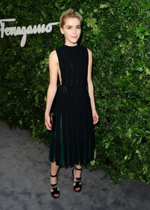 Kiernan Shipka - Salvatore Ferragamo 100th Year Celebration in Beverly Hills