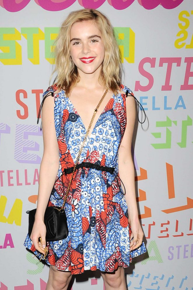 Kiernan Shipka - Stella McCartney's Autumn 2018 Collection Launch in LA