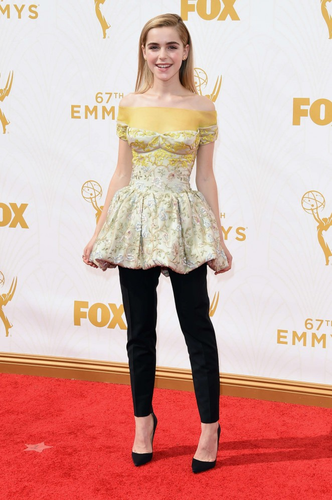 Kiernan Shipka - 2015 Primetime Emmy Awards in LA