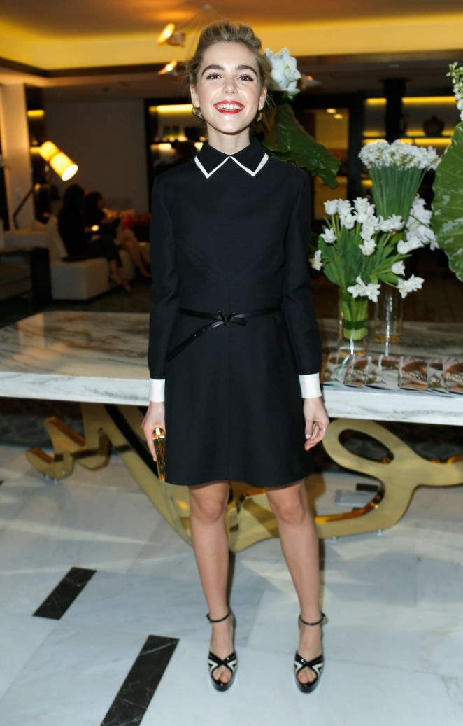 Kiernan Shipka - The Hollywood Reporter's Beauty Dinner in West Hollywood