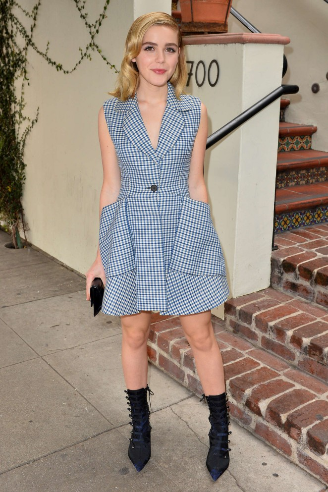 Kiernan Shipka 2016 : Kiernan Shipka: W Magazines It Girl Luncheon -09