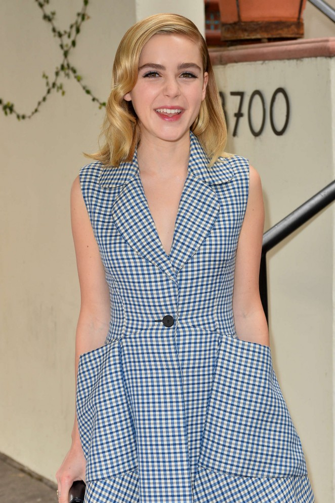 Kiernan Shipka - W Magazine's It Girl Luncheon in LA