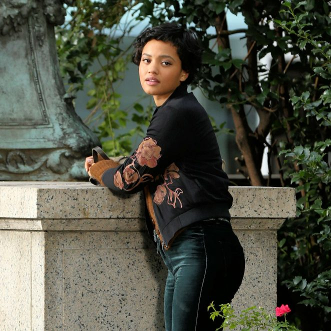 Kiersey Clemons - Filming 'The Only Living Boy' in New York City