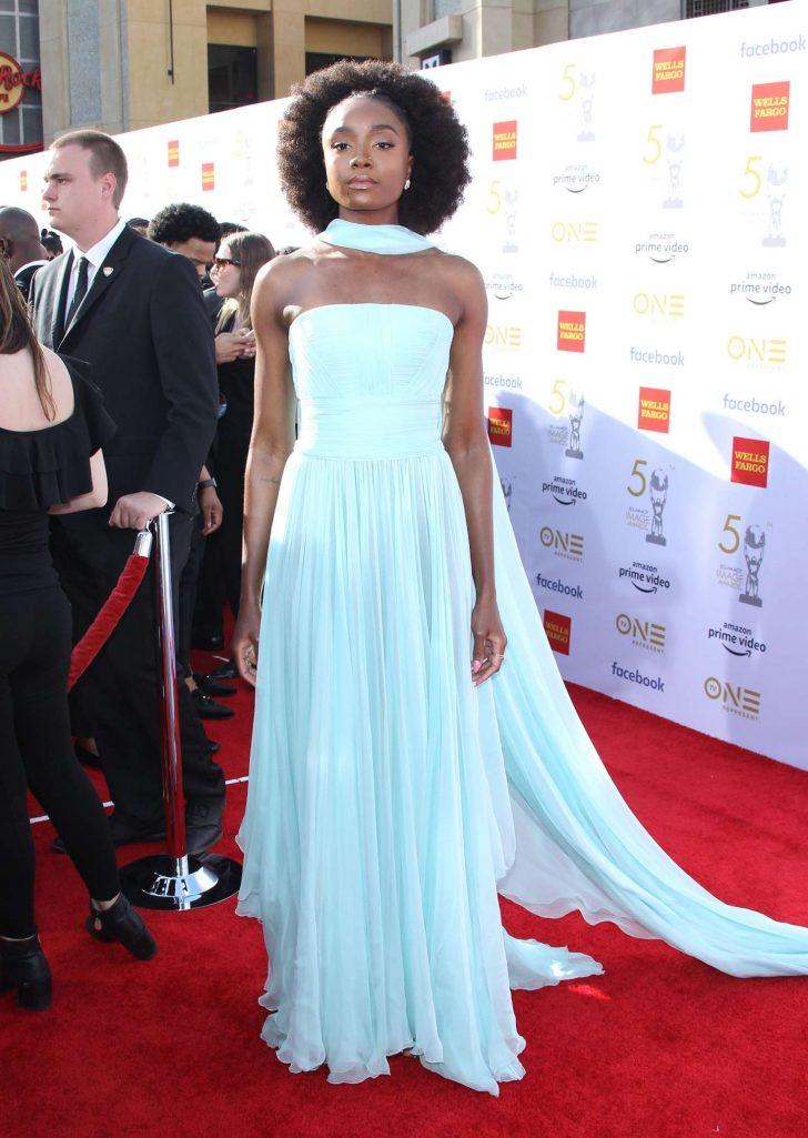 Kiki Layne - 50th NAACAP Image Awards in Hollywood