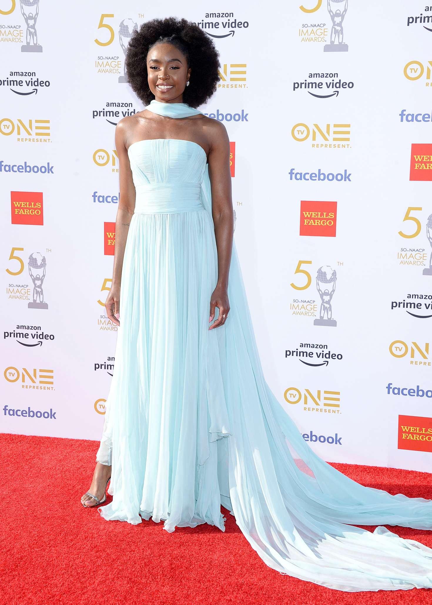 Kiki Layne 2019 : Kiki Layne: 50th NAACAP Image Awards -05