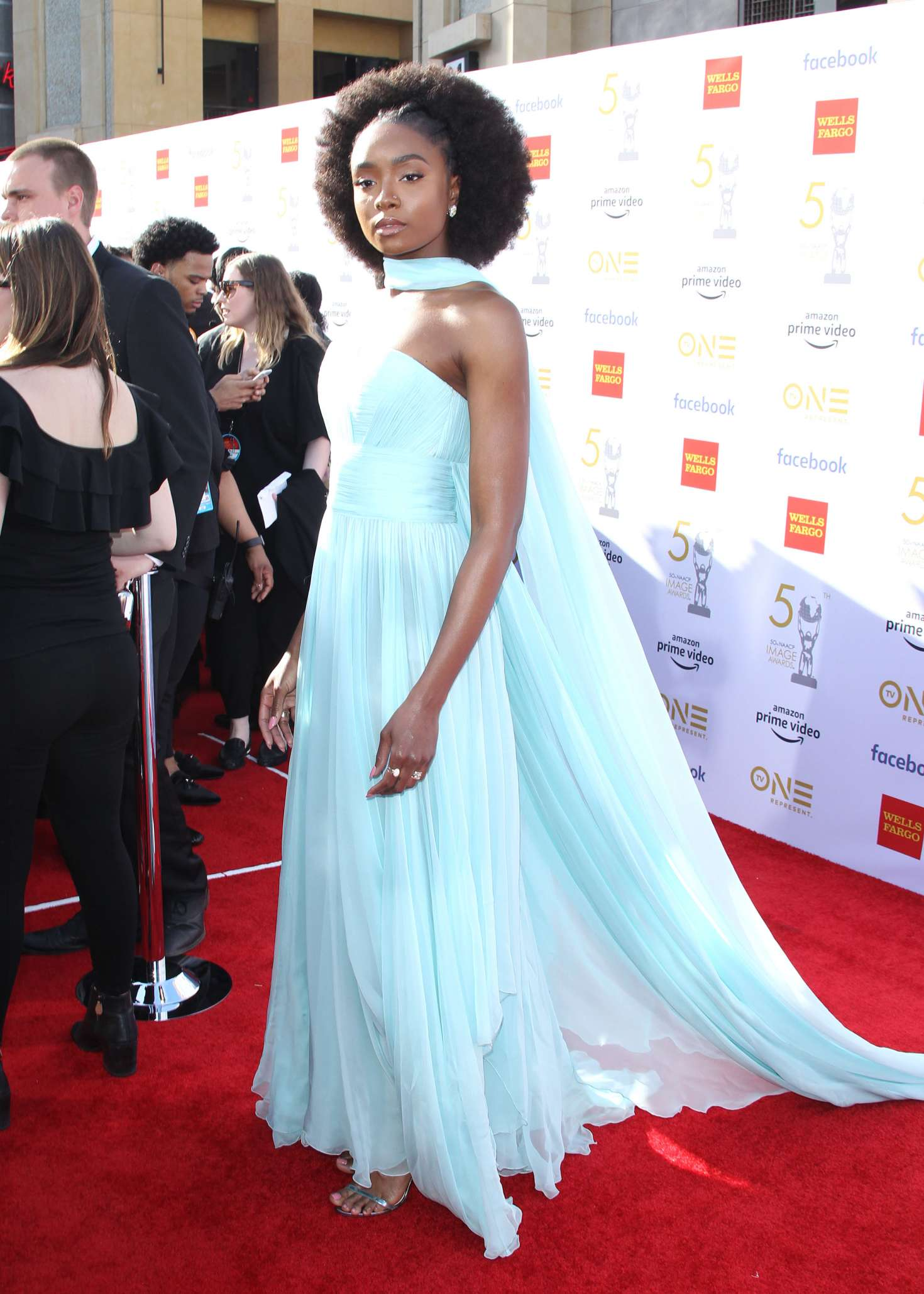 Kiki Layne 2019 : Kiki Layne: 50th NAACAP Image Awards -07