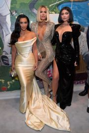 Kim and Khloe Kardashian and Kylie Jenner - Sean Combs 50th Birthday Bash in Los Angeles