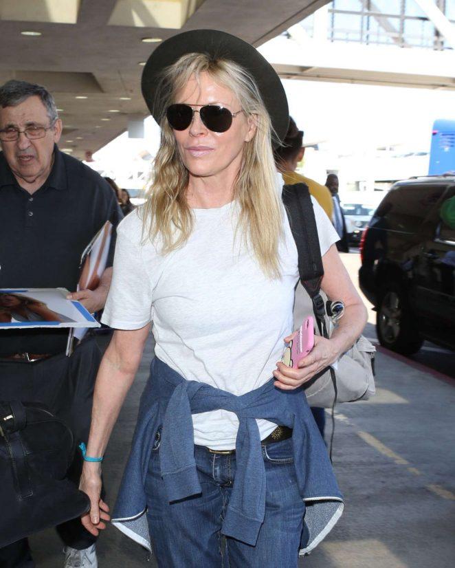 Kim Basinger at LAX Airport in LA