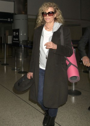 Kim Basinger out in Los Angeles