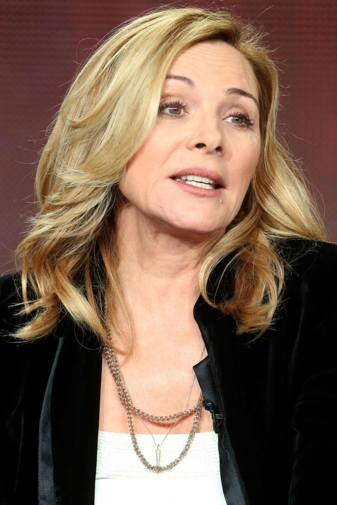 "Kim Cattrall - ""Shakespeare Uncovered"" Panel at 2015 Winter TCA Tour in Pasadena"
