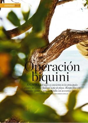 Kim Cloutier: Elle Spain 2015 -04
