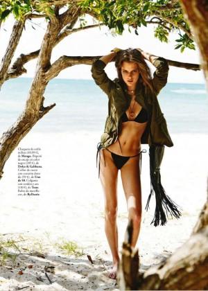Kim Cloutier: Elle Spain 2015 -05