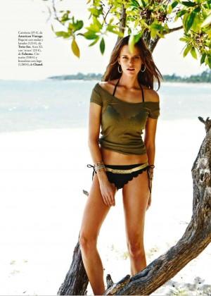 Kim Cloutier: Elle Spain 2015 -10