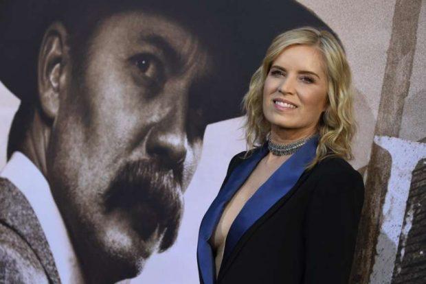 Kim Dickens: Deadwood LA Premiere -02