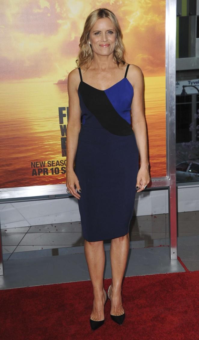 Kim Dickens - 'Fear The Walking Dead' Premiere in LA