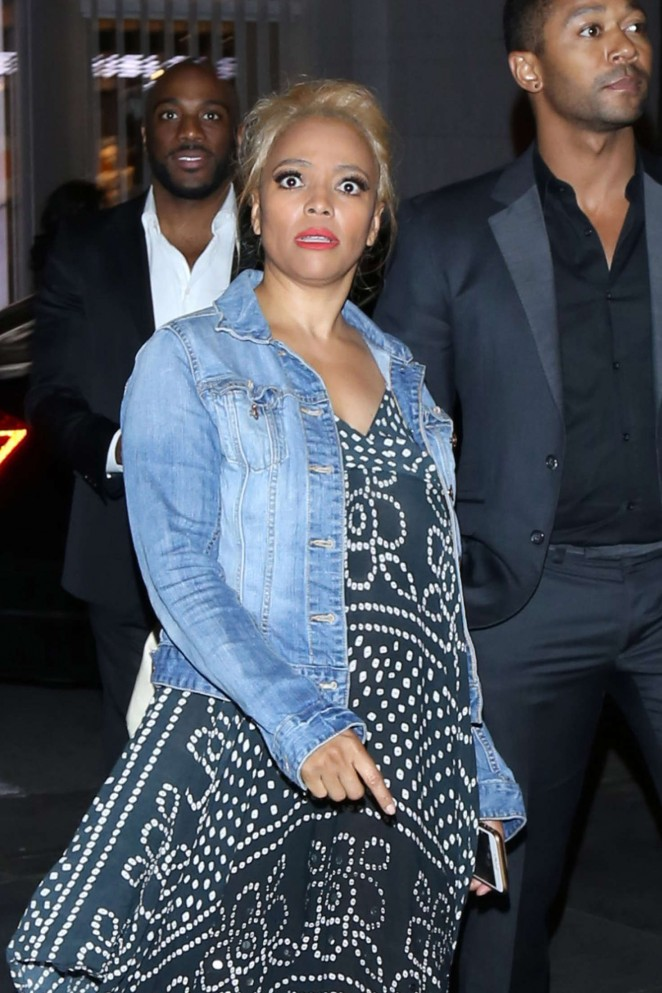 Kim Fields - Heads to Mixology101 after DWTS Competition in LA