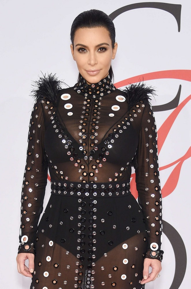 Kim Kardashian - 2015 CFDA Fashion Awards in NYC