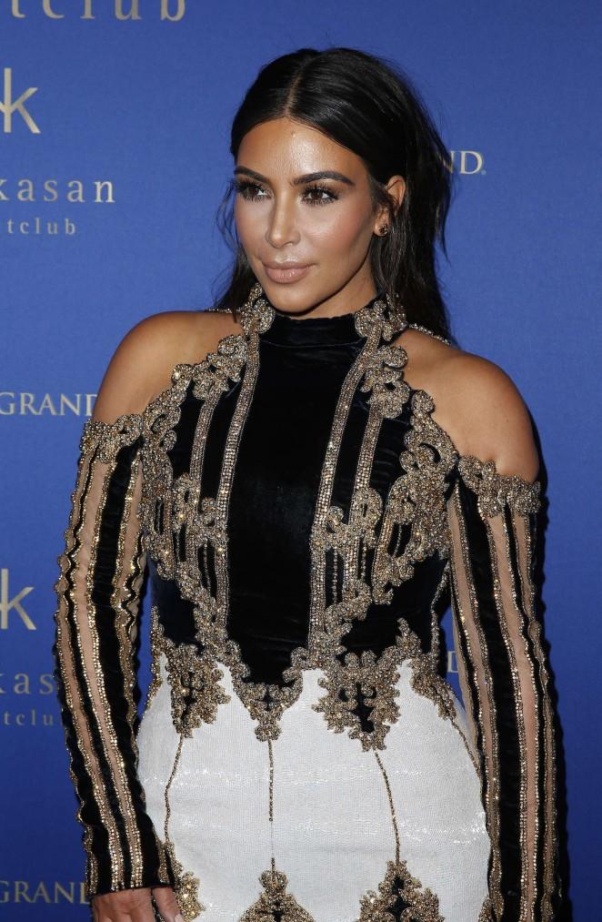 Kim Kardashian – 2016 Hakkasan Nightclub Celebrates in Las Vegas