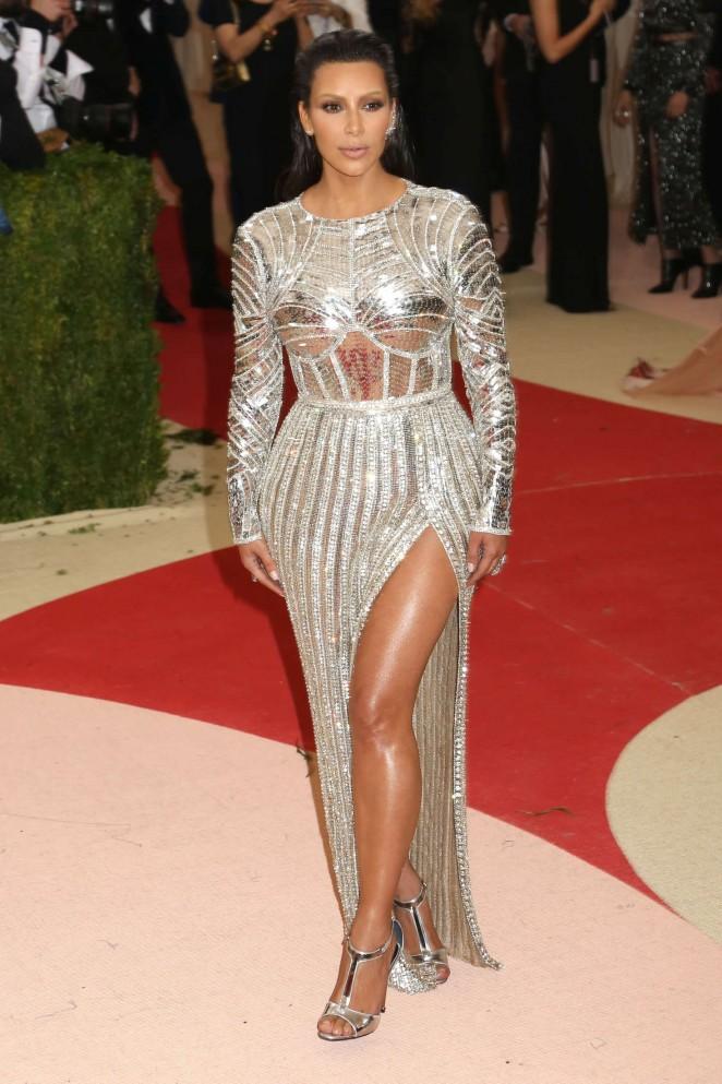Kim Kardashian - 2016 Met Gala in NYC