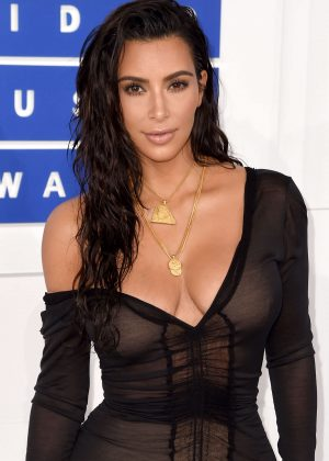 Kim Kardashian - 2016 MTV Video Music Awards in New York City