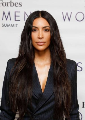 Kim Kardashian - 2017 Forbes Women's Summit in NYC