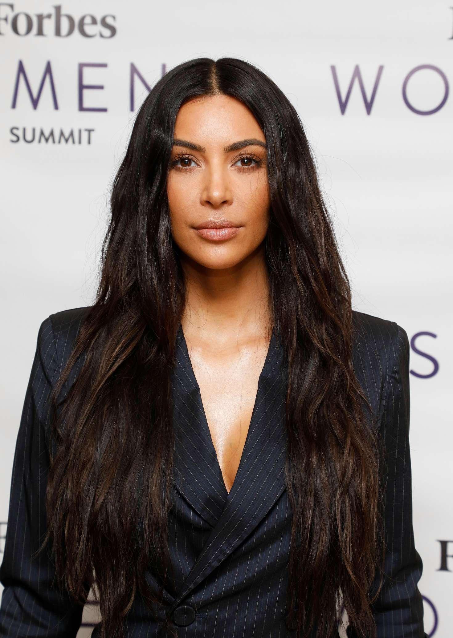 Kim Kardashian – 2017 Forbes Women's Summit in NYC – GotCeleb Kim Kardashian