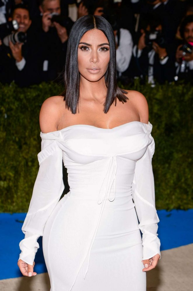 Kim Kardashian – 2017 MET Costume Institute Gala in NYC