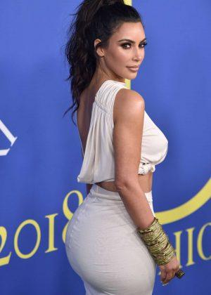 Kim Kardashian - 2018 CFDA Fashion Awards in Brooklyn