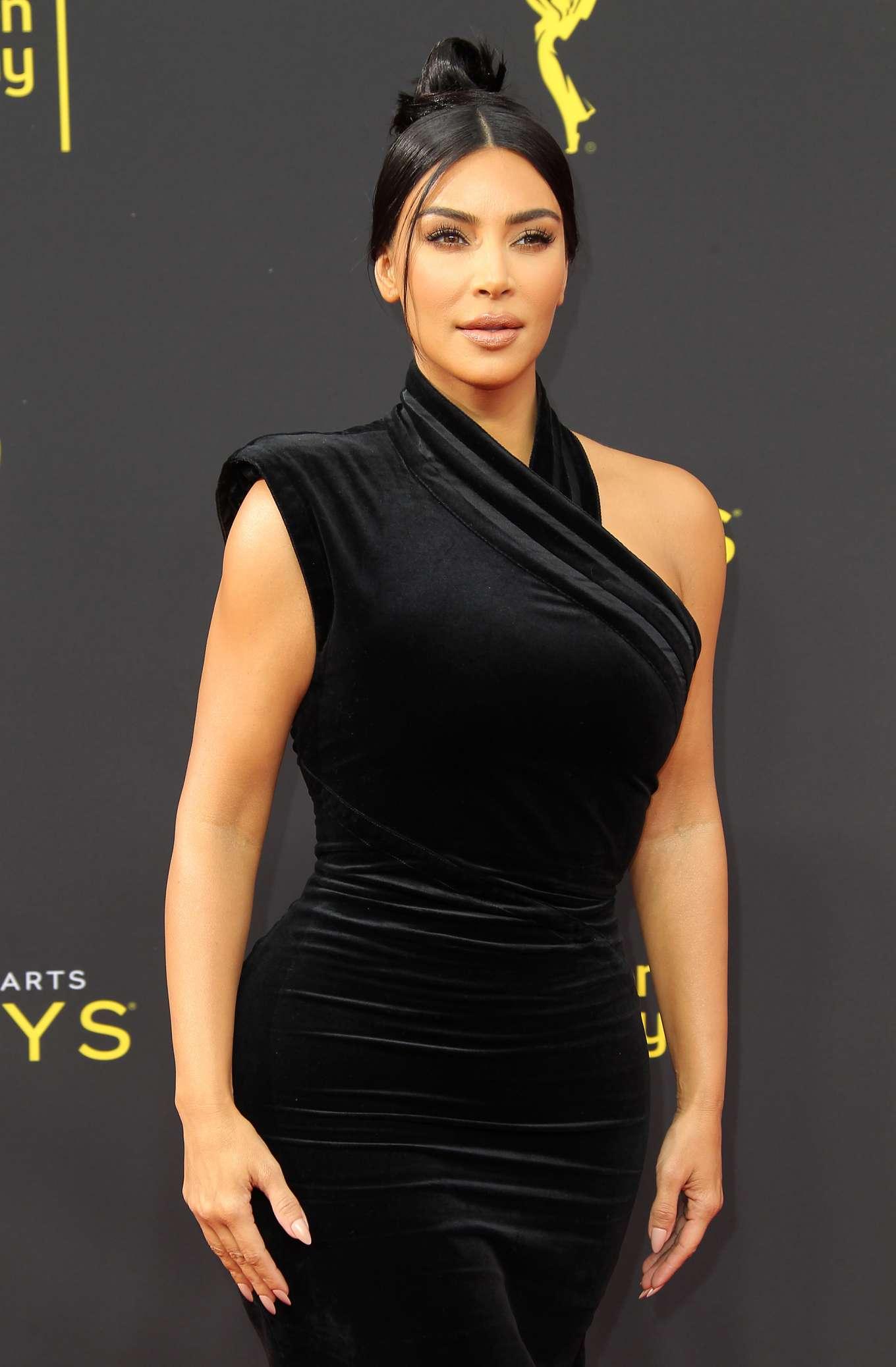 Kim Kardashian - 2019 Creative Arts Emmy Awards in Los Angeles