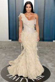 Kim Kardashian - 2020 Vanity Fair Oscar Party in Beverly Hills