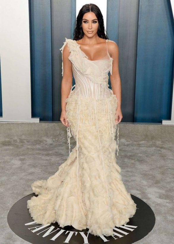 Kim Kardashian - 2020 Vanity Fair Oscar Party in Beverly Hills