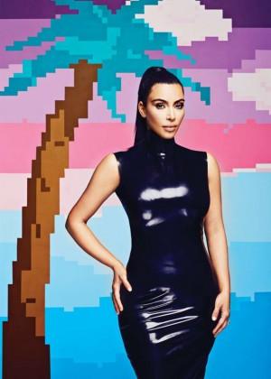 Kim Kardashian - AdWeek Magazine (March 2015)