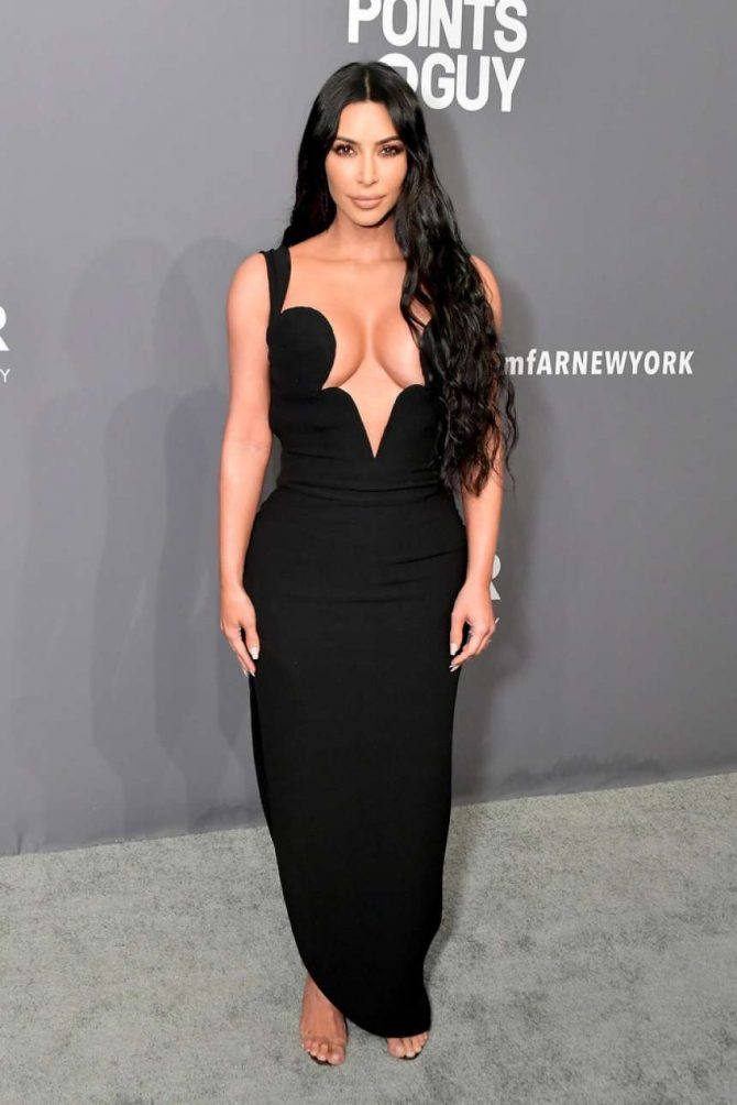 Kim Kardashian – amfAR New York Gala 2019 in NYC