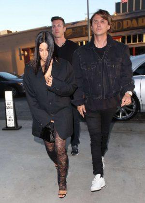 Kim Kardashian and Jonathan Cheban Out in Hollywood