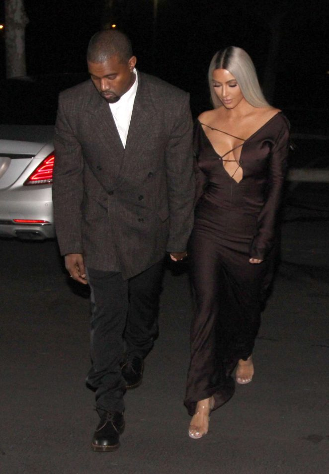 Kim Kardashian and Kanye West – Head out for a date night in LA