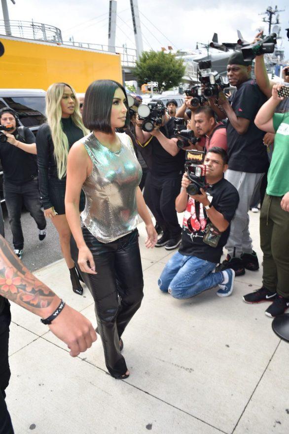 Uncategorized 2019 : Kim Kardashian arrives at a fashion show in New York during New York Fashion Week 2019-18